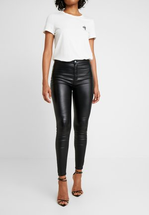 HIGH WAIST - Jeggings - black
