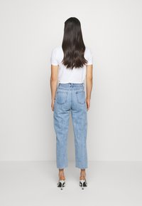 Lost Ink - STRAIGHT WINTER ICE - Straight leg jeans - light denim - 2