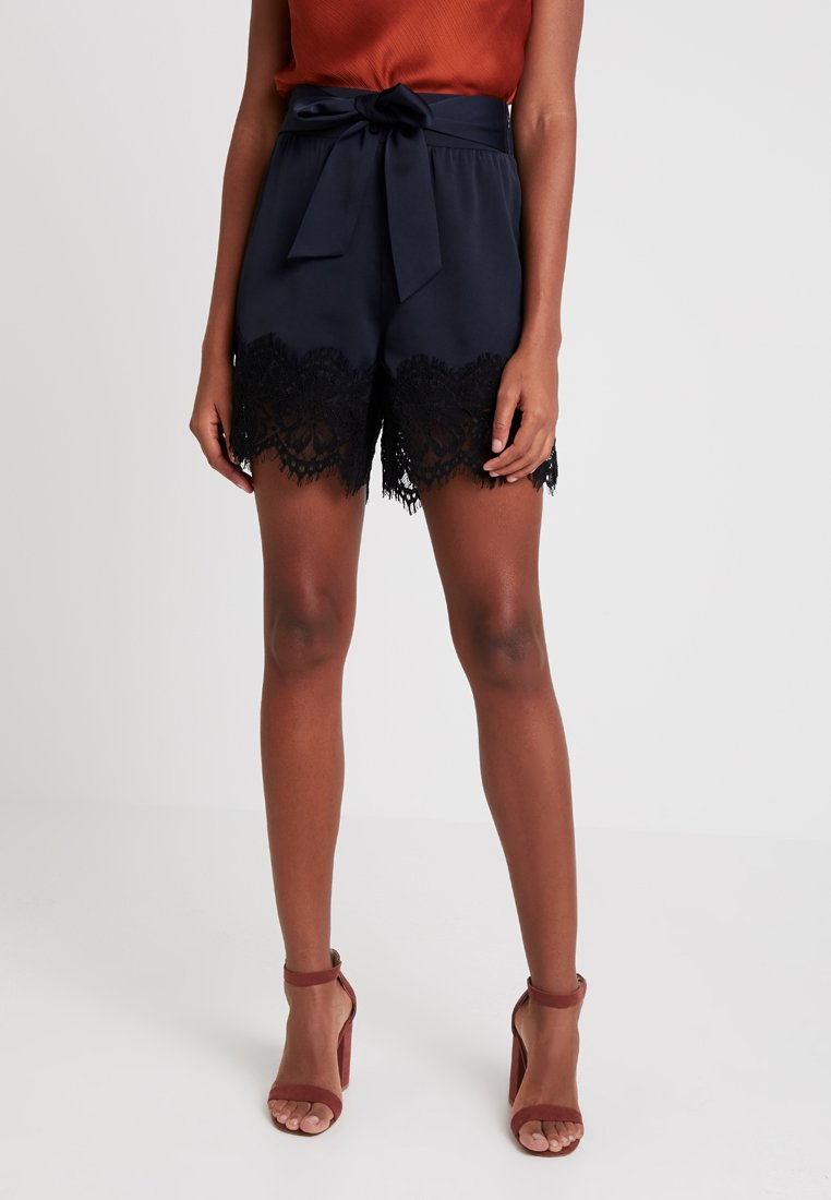 Lost Ink - WITH HEM - Shorts - navy