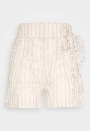 STRIPE TIE SIDE - Shorts - multi-coloured