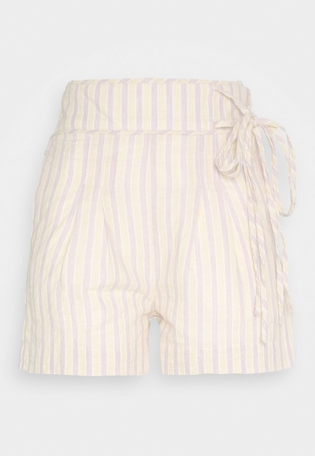 STRIPE TIE SIDE - Short - multi-coloured