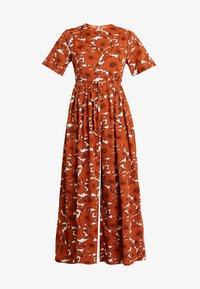 Lost Ink - WITH WIDE LEG IN FLORAL - Jumpsuit - multi orange - 5