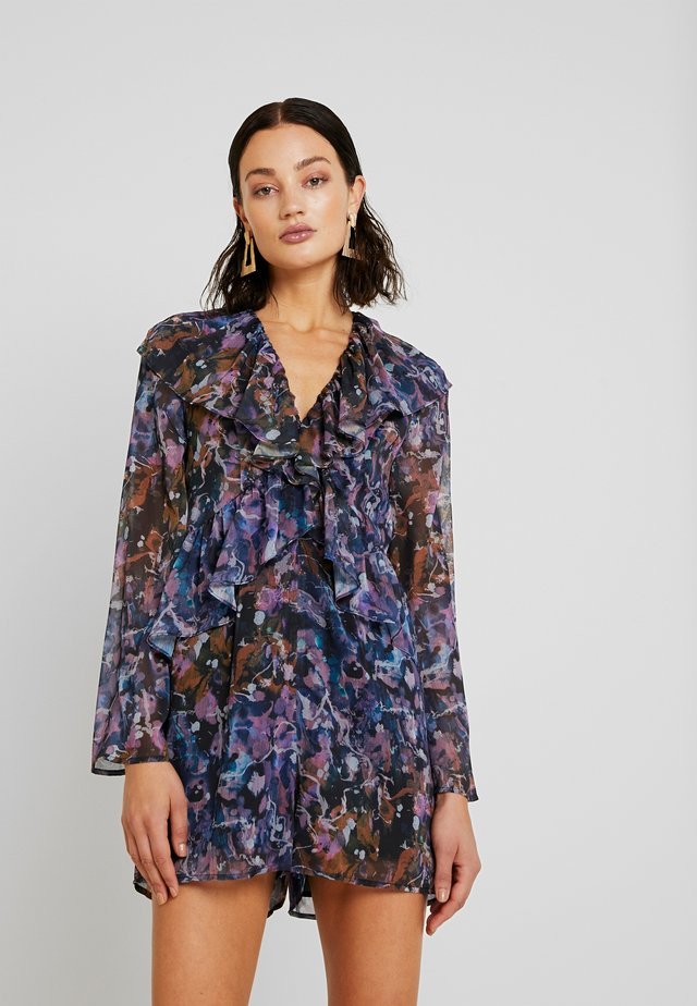 RUFFLE FRONT PRINTED - Jumpsuit - multi