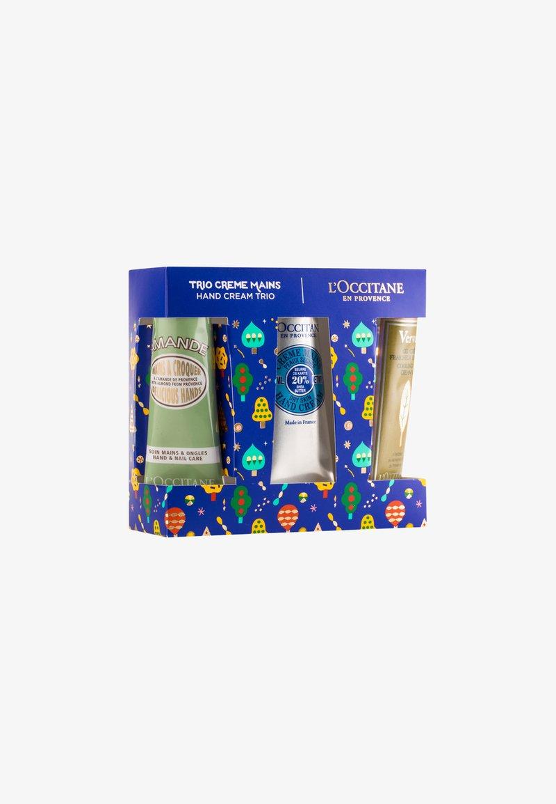 L'OCCITANE - HAND CREAM TRIO - Skincare set - -