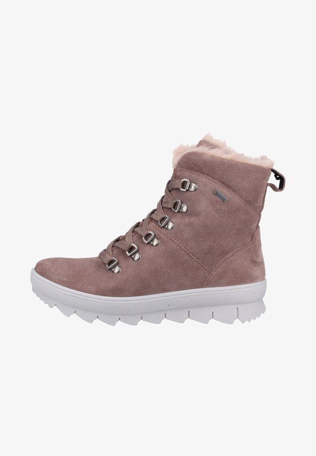Veterboots - dark pink