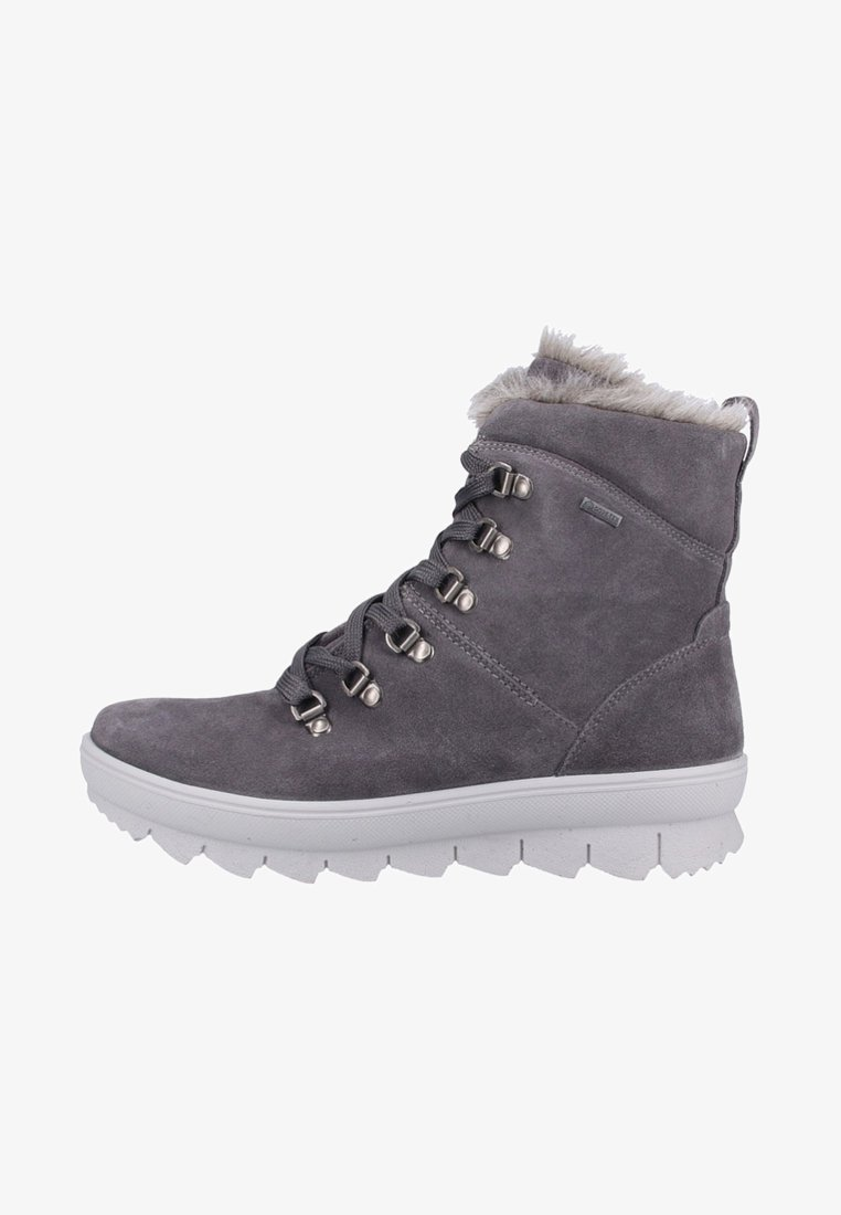 Legero - Lace-up ankle boots - gray