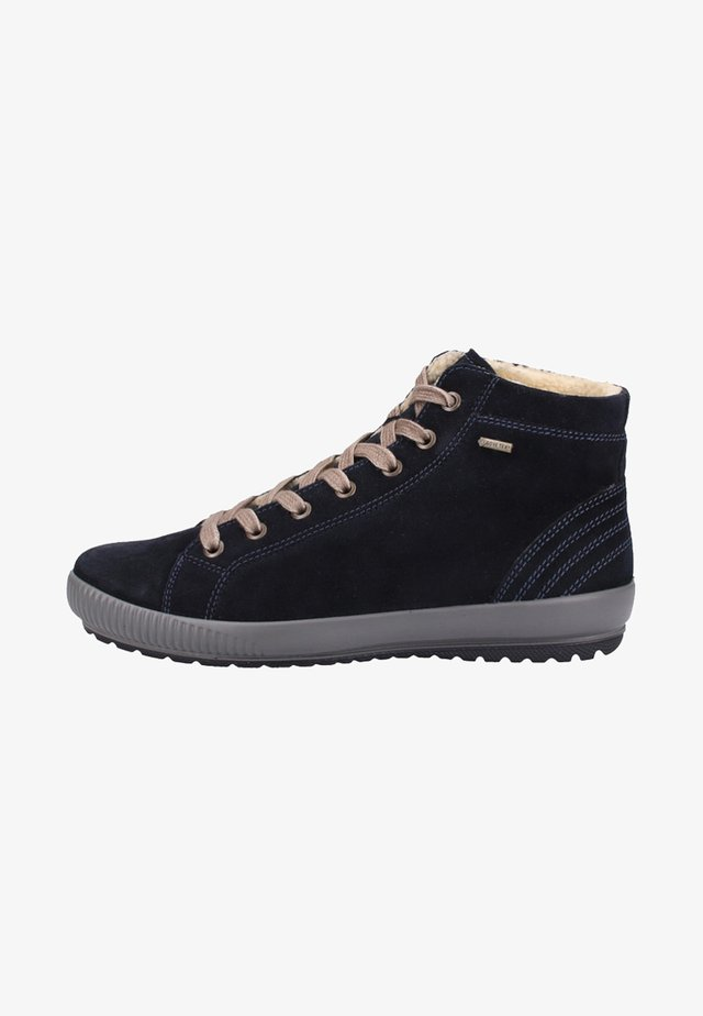 High-top trainers - pacific blue