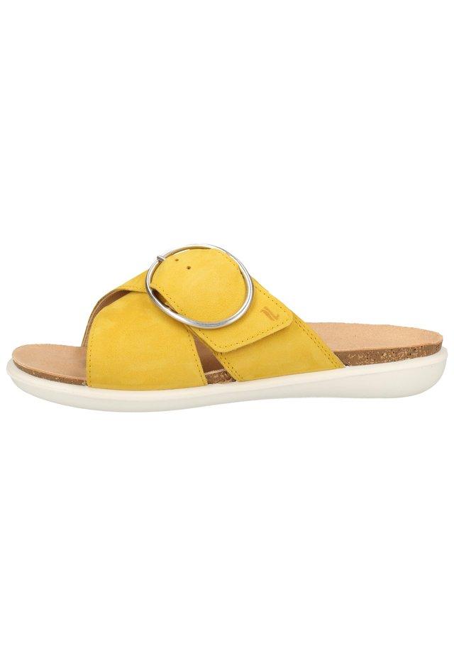 MUILTJES - Klapki - sunshine (gelb) 62