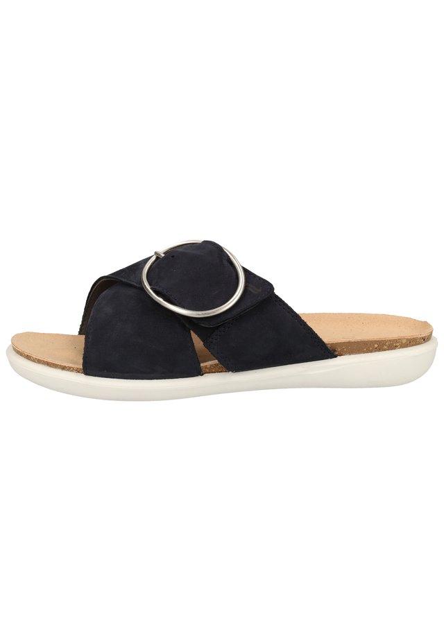 MUILTJES - Pantolette flach - oceano (blau) 83