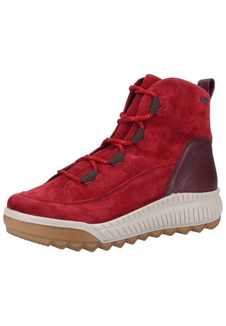 Legero Bottines à lacets red