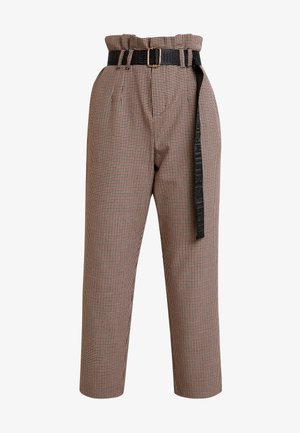 ERIA - Spodnie materiałowe - ginger