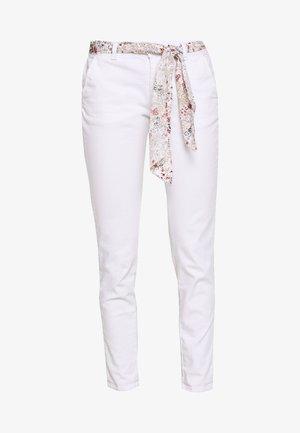 LIDY - Kalhoty - white