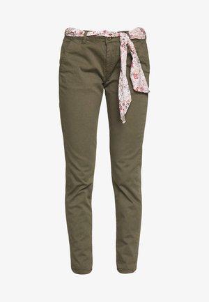 LIDY - Pantalon classique - lizard