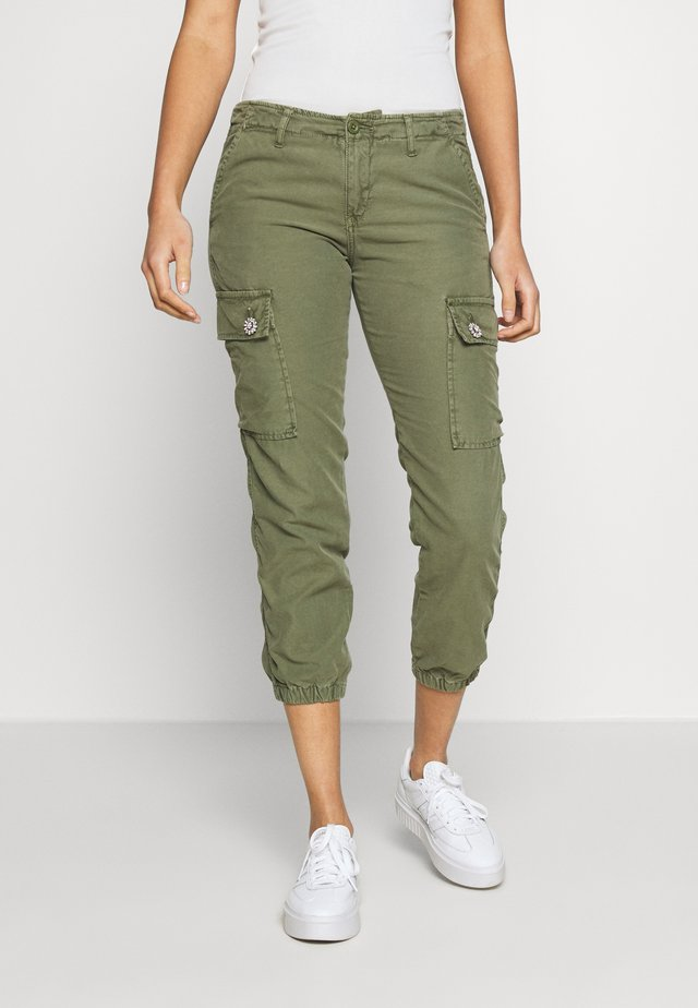 DAKOTA - Stoffhose - light khaki