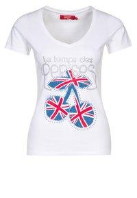 Le Temps Des Cerises - FAMBER - T-shirt imprimé - white - 0