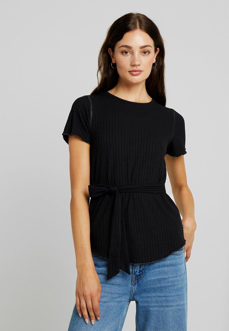 Le Temps Des Cerises - OPHELY - T-shirt imprimé - black