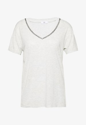 AYAN - T-shirt print - light grey melange