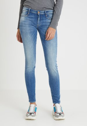 HERITAGE - Slim fit jeans - blue