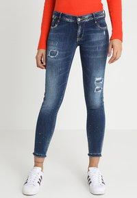 Le Temps Des Cerises - PULPC HERITAGE - Jeans Skinny Fit - blue - 0