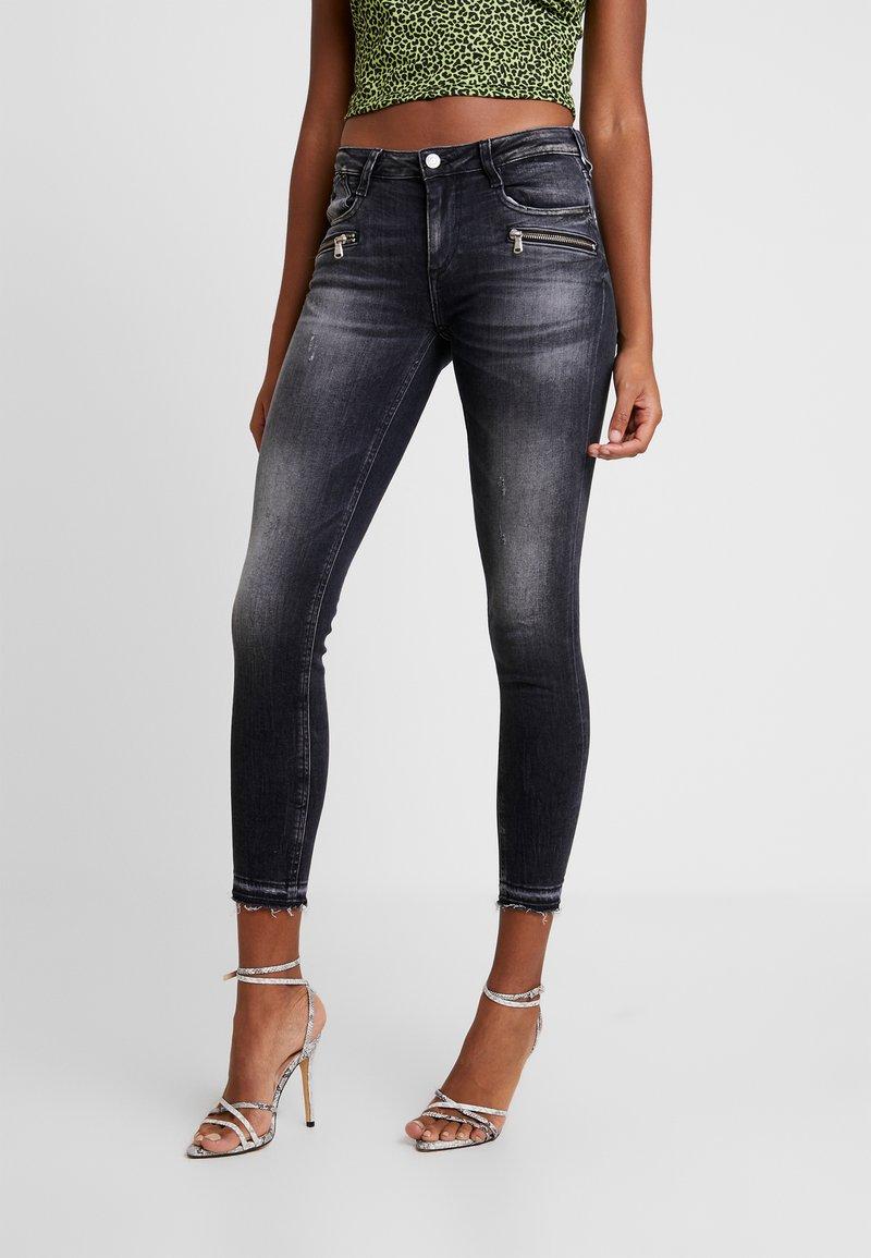 Le Temps Des Cerises - POWER - Jeans Skinny Fit - black