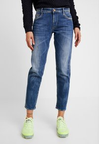 Le Temps Des Cerises - Relaxed fit jeans - blue - 0