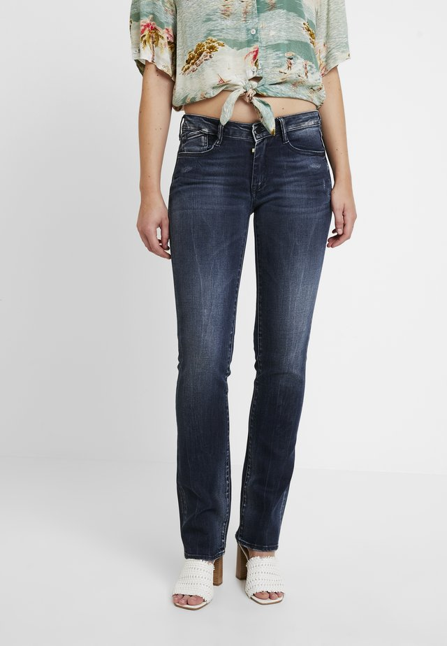 POWER - Bootcut jeans - blue
