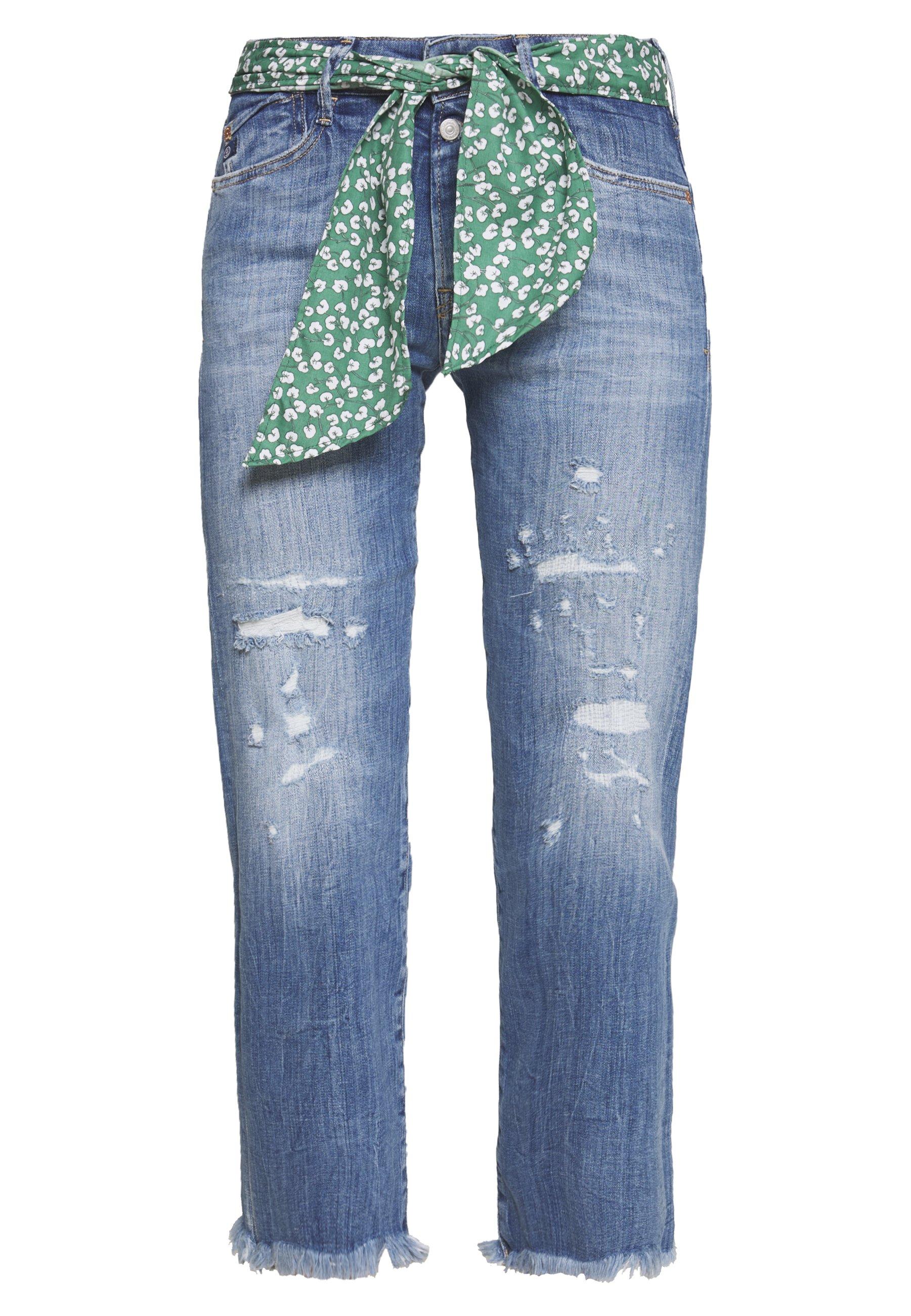 Le Temps Des Cerises PRECIOUS - Jeansy Straight Leg - blue
