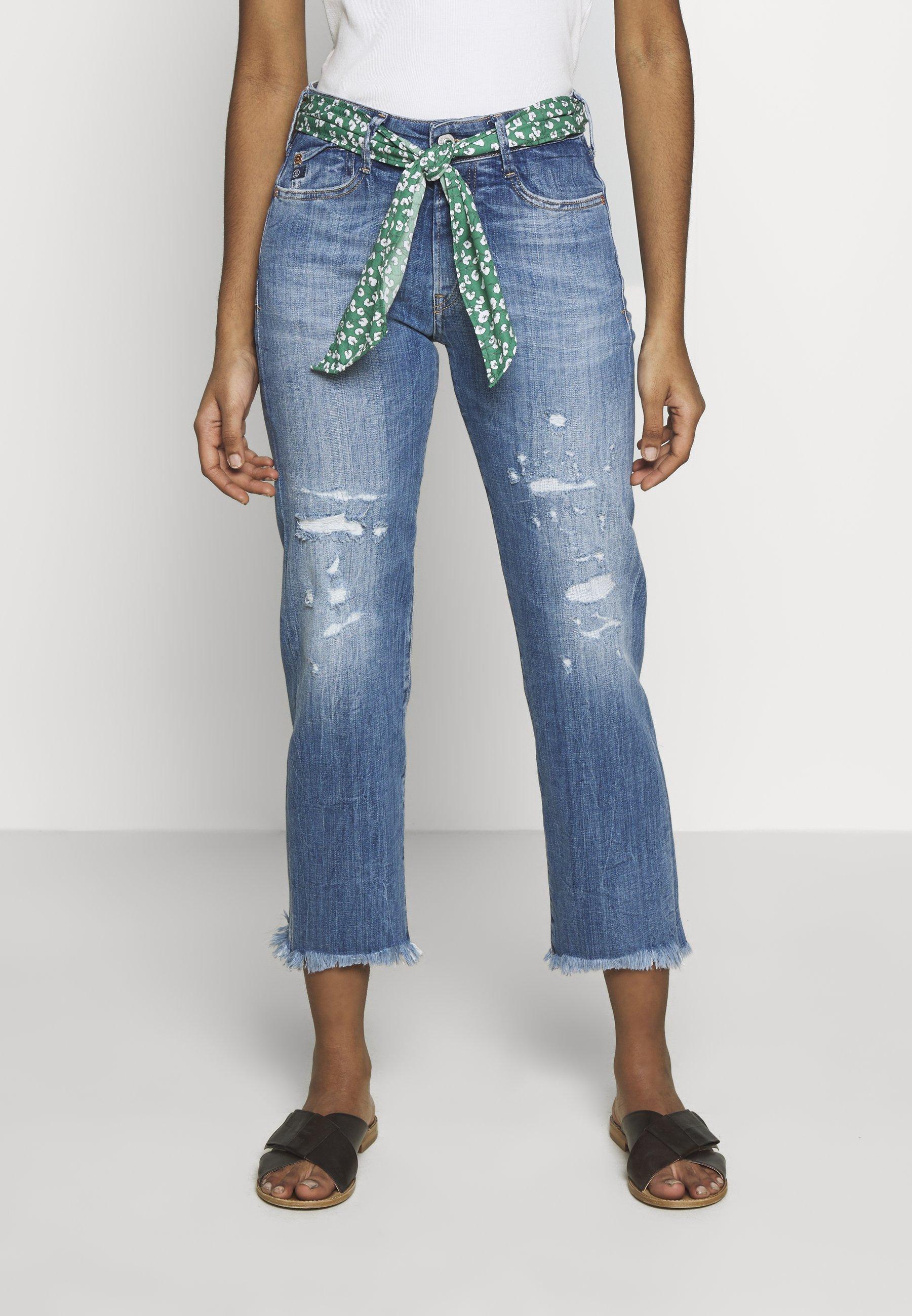 Le Temps Des Cerises Precious - Jeans Straight Leg Blue