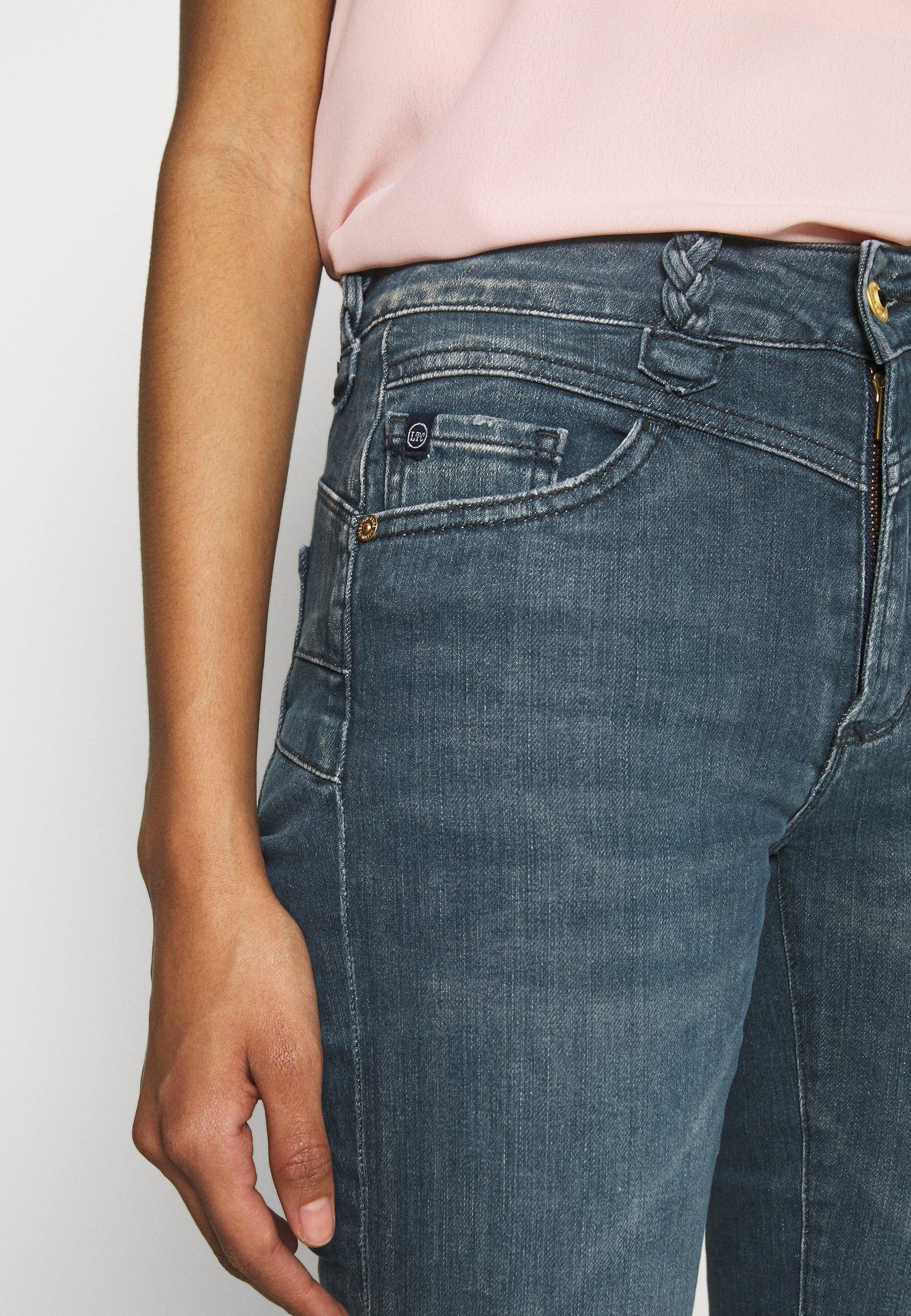 Le Temps Des Cerises Pulphisl - Jeans Slim Fit Green Cast