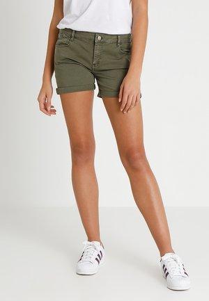 JANKA - Denim shorts - lizard