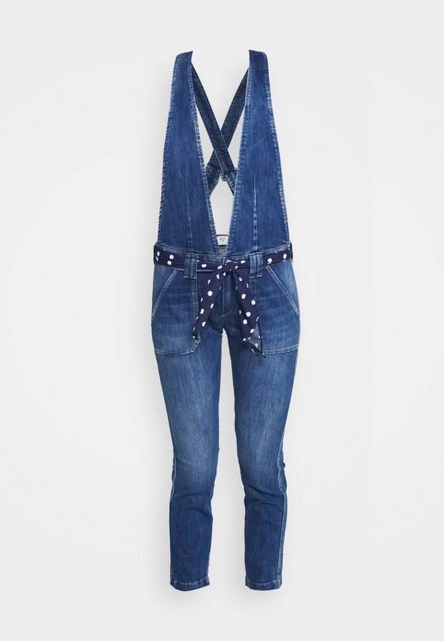 MARA - Tuinbroek - blue denim