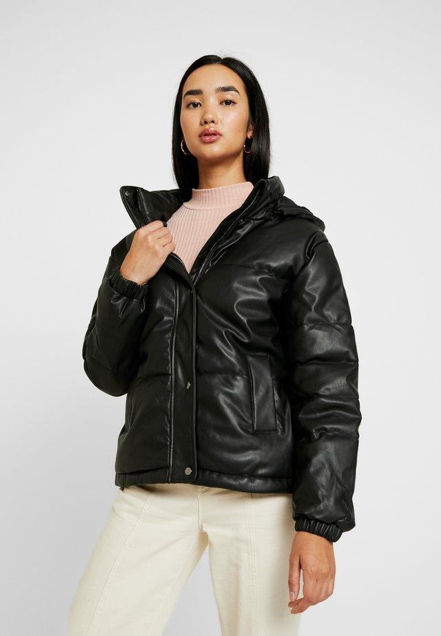 SKIN - Winter jacket - black