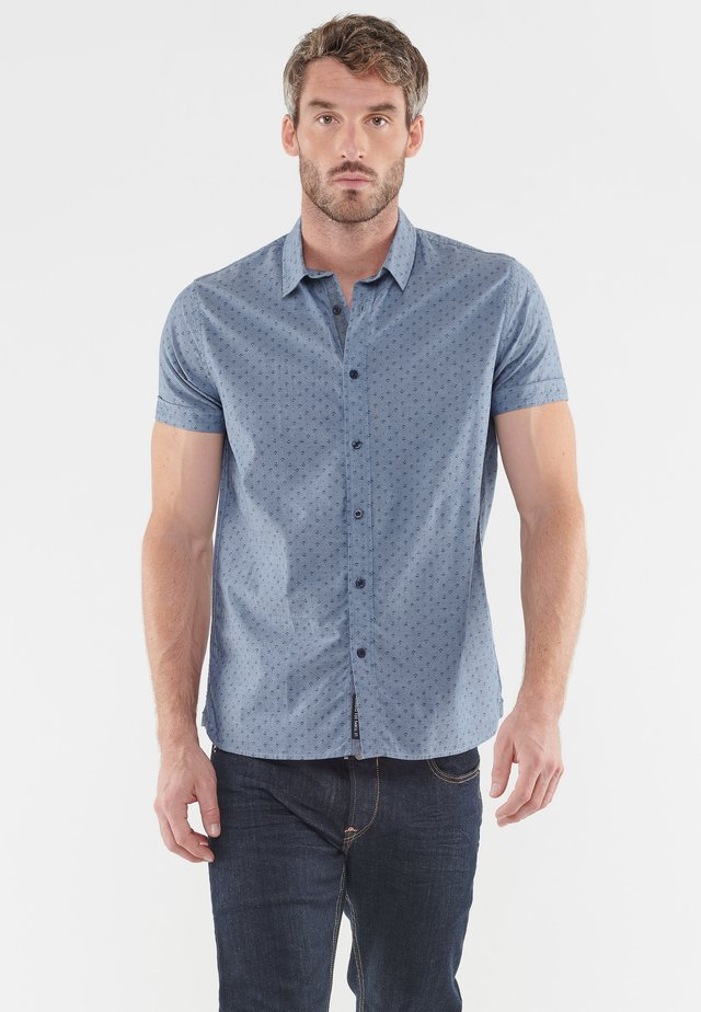 MIT ELEGANTEM ALLOVERPRINT - Shirt - blue