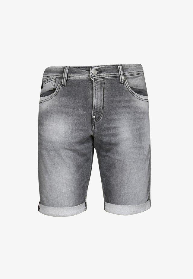 JOGG LO - Denim shorts - grey