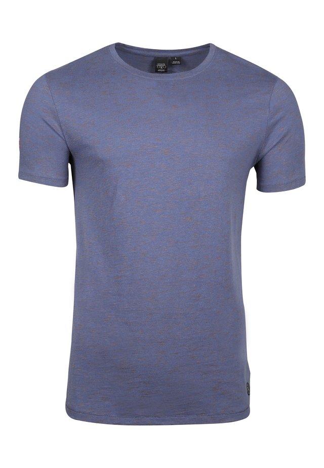 ELFO  - Basic T-shirt - peacoat