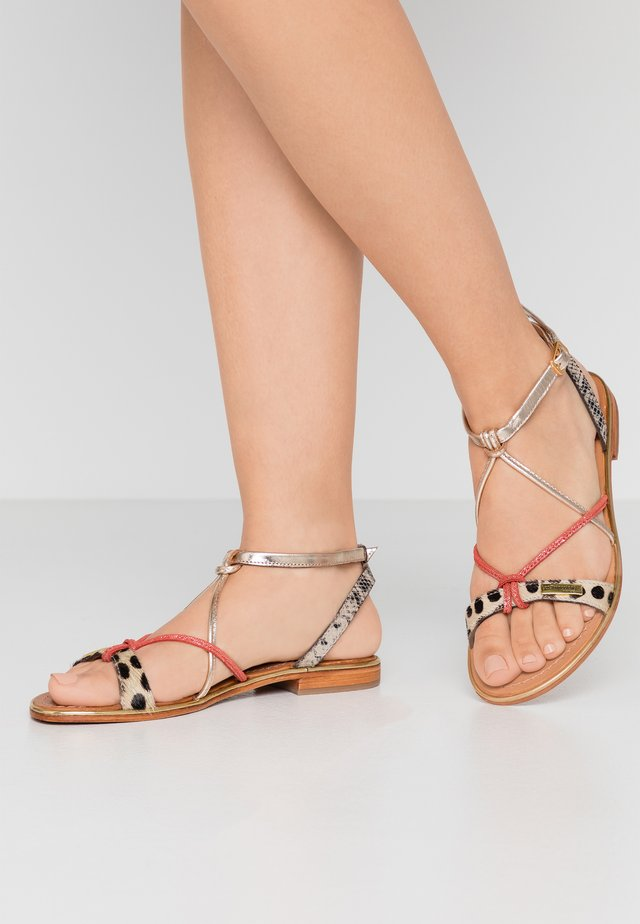 HIRONDEL - Sandals - multicolor