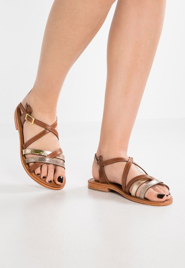 HAPAX - Sandals - tan/beige