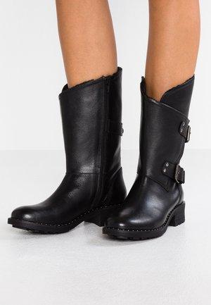 ANCLOU - Cowboy/Biker boots - noir