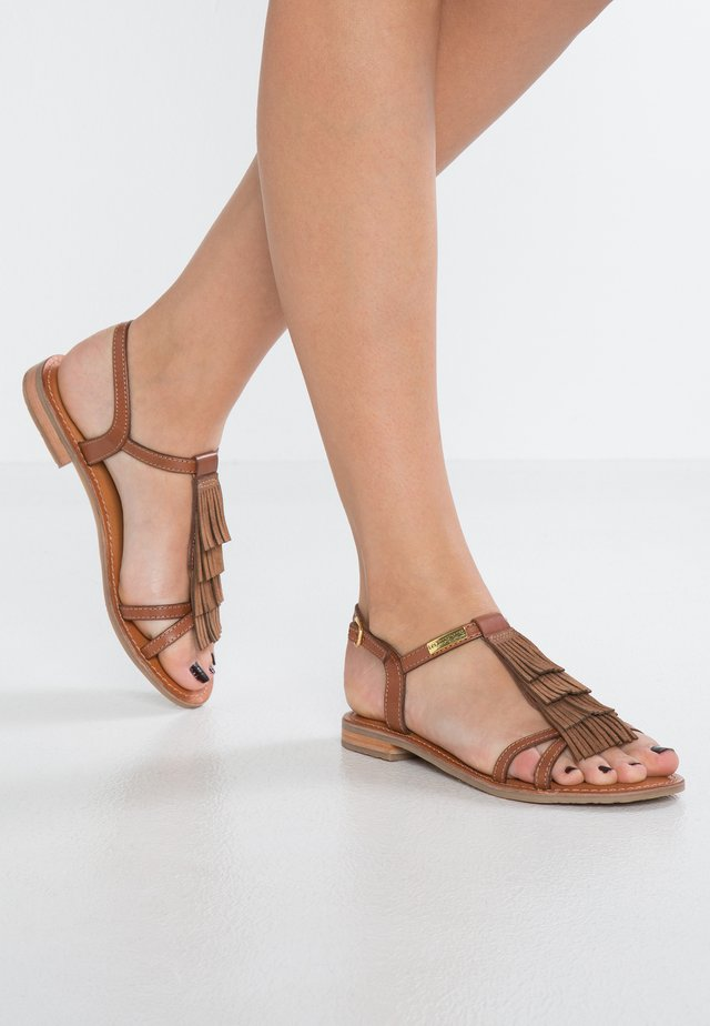 BELIE - Sandals - brown