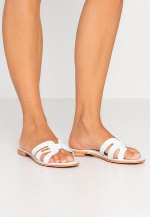 DAMIA - Ciabattine - blanc