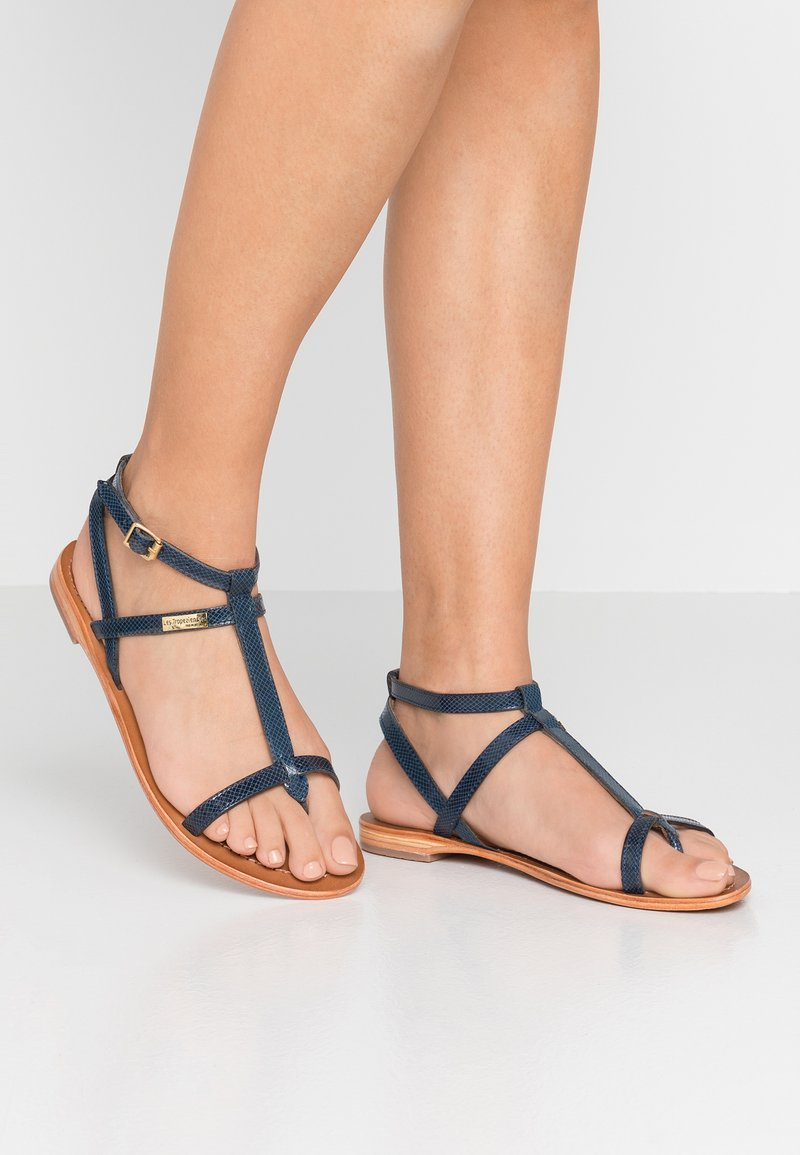 Les Tropéziennes par M Belarbi - HILAN - T-bar sandals - dark blue