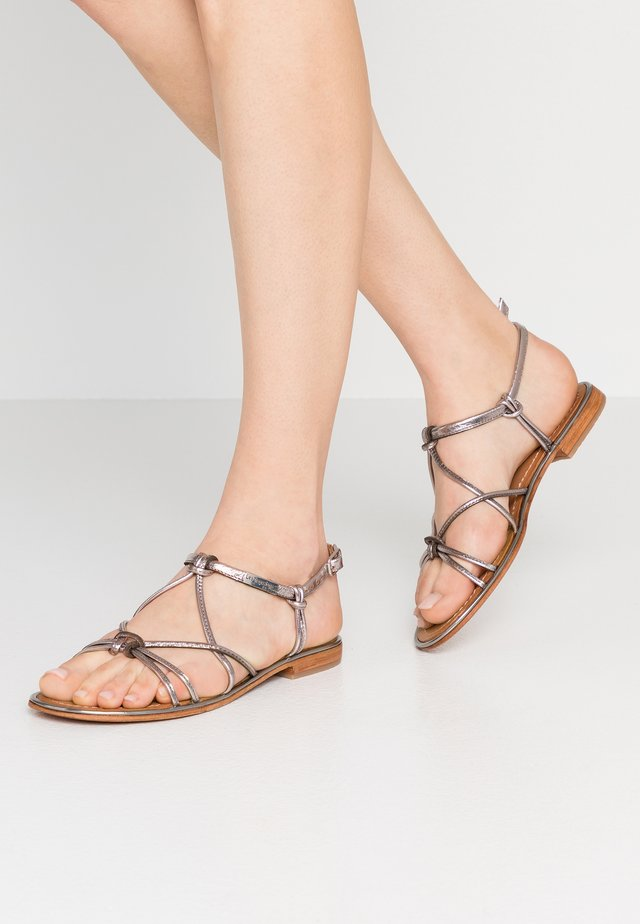 HERON - Sandals - silver