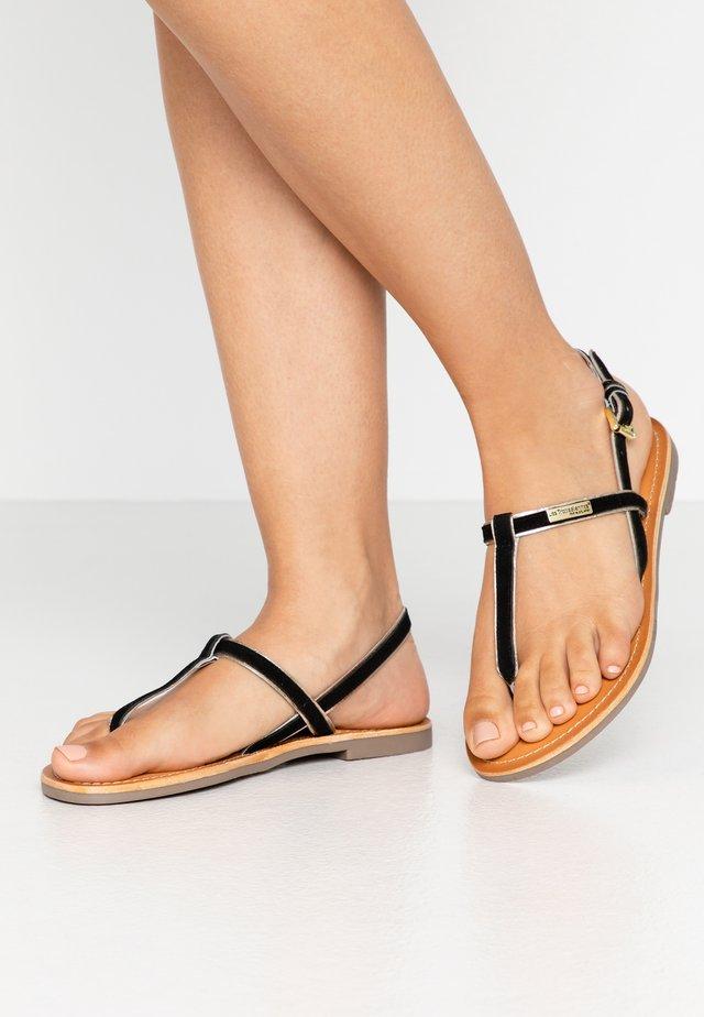 DABI - Sandaler m/ tåsplit - noir