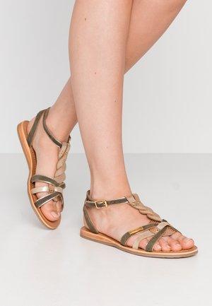 HAMUC - Sandaler - kaki