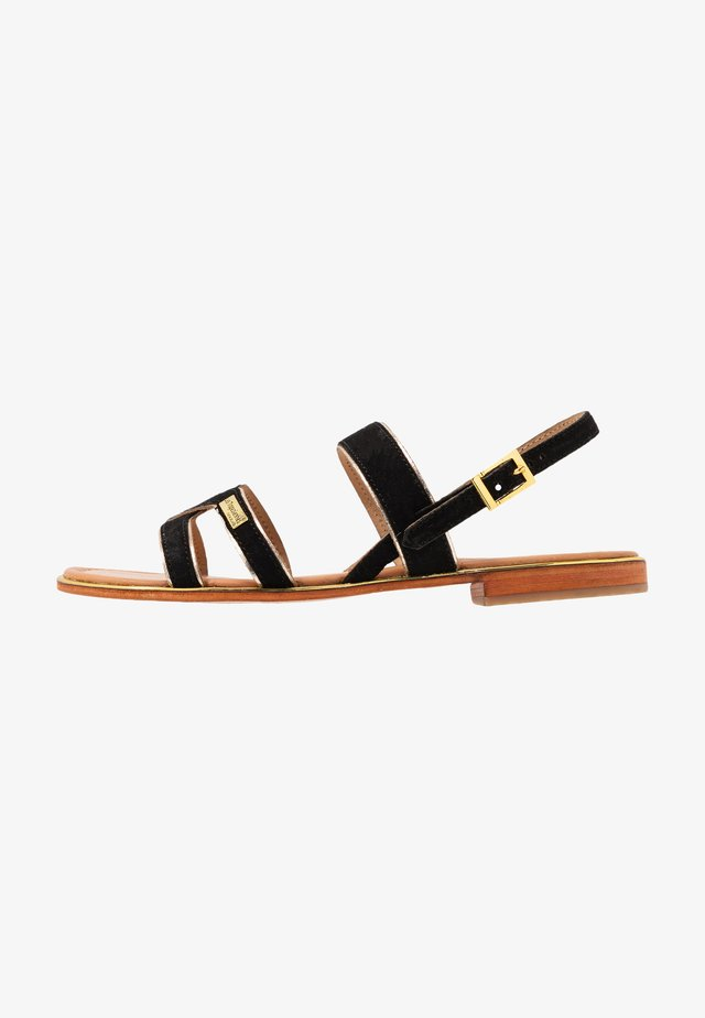 HELIBUC - Sandals - noir