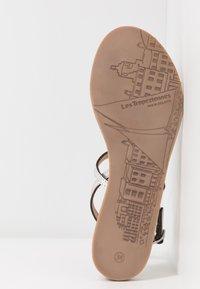 Les Tropéziennes par M Belarbi - HOLO - T-bar sandals - argent - 4