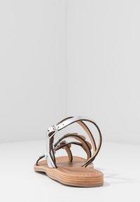 Les Tropéziennes par M Belarbi - HOLO - T-bar sandals - argent - 3