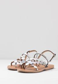 Les Tropéziennes par M Belarbi - HOLO - T-bar sandals - argent - 2