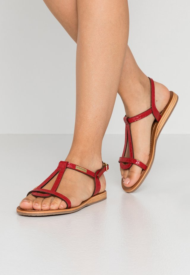 HACROC - Sandals - rouge