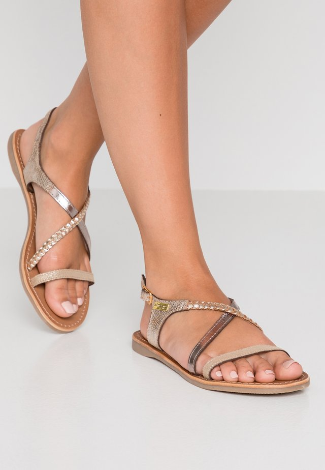 HANANO - Sandals - gold/multicolor